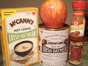 apple oats ingredients