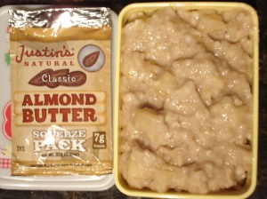 Alomond Butter Apple Oats